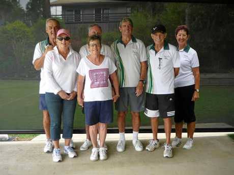 GETTING OUT AND ABOUT: Headland-Buderim Croquet Club troupers enjoy their recent social day.
