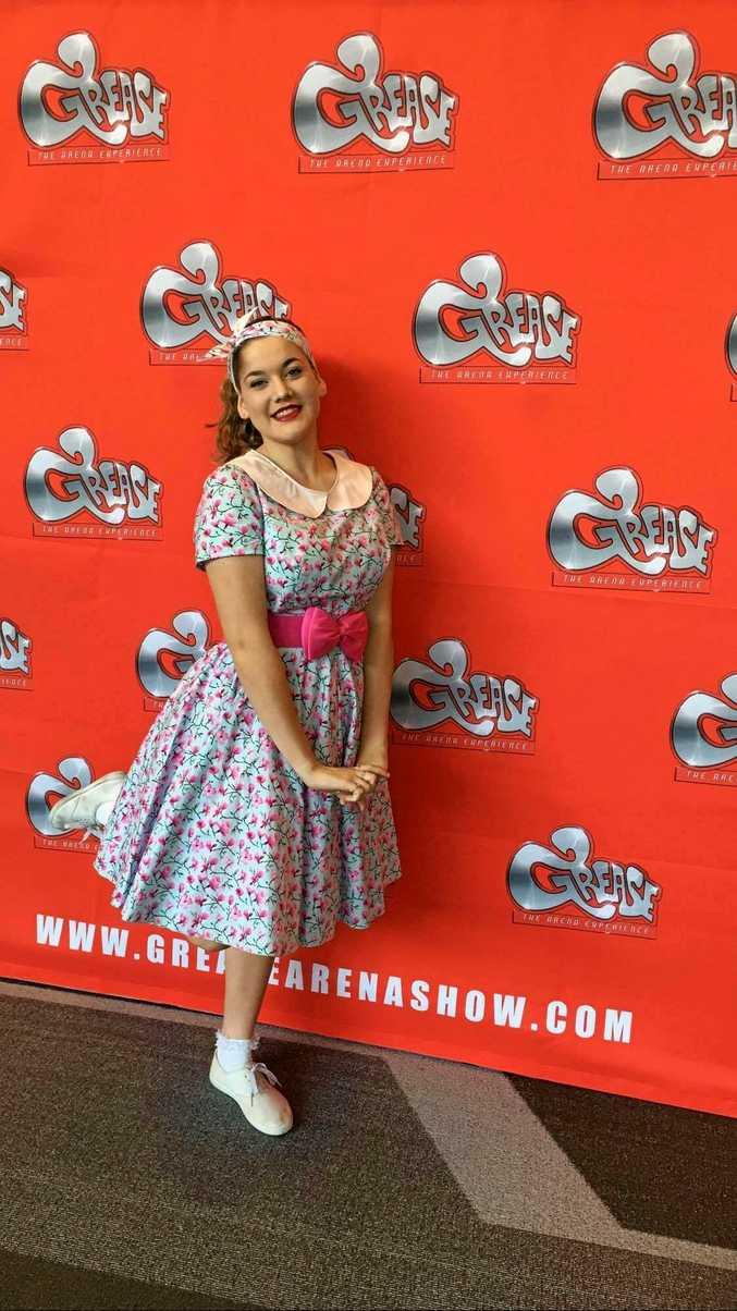 SUMMER LOVING: Noosa teen Kelsey Hannah is heading to Sydney to perform in Grease.