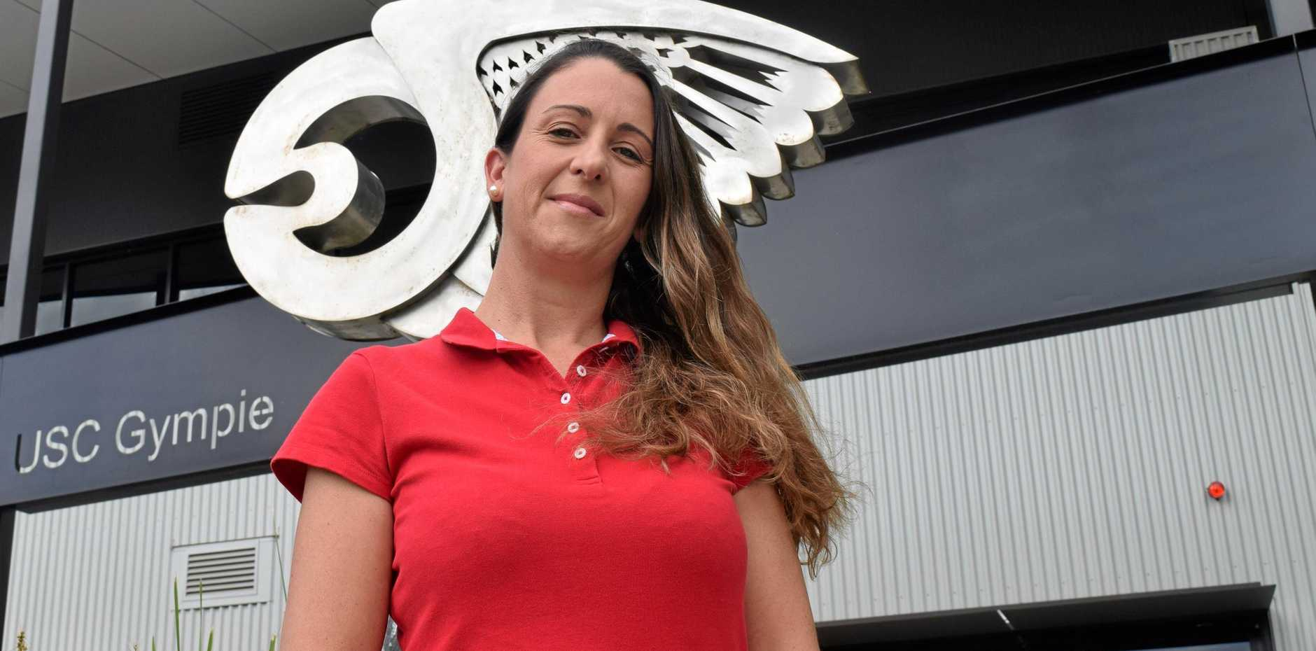 HOPEFUL: Recent USC Gympie graduate Michelle Walker said she would be disappointed if the Federal Government's university funding freeze hurt regional students.