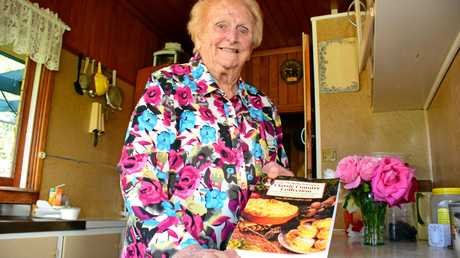 Lady Flo shared her love of good old fashioned, family country cooking in her cook book.     Photo Helen Spelitis / South Burnett Times