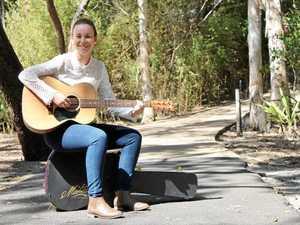 School teacher sings to success