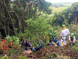 PHOTOS: Rescue crews praised after farm accident