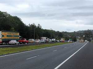 Gridlock growing fast after second Bruce Hwy crash