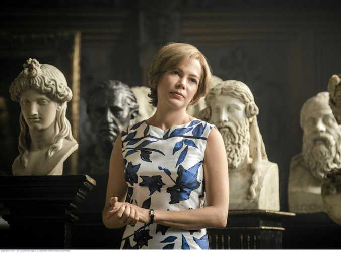 Michelle Williams in a scene from the movie All The Money in The World.