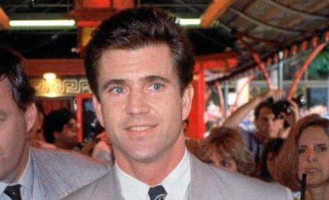 Mel Gibson at the premiere of Air America in August, 1990.