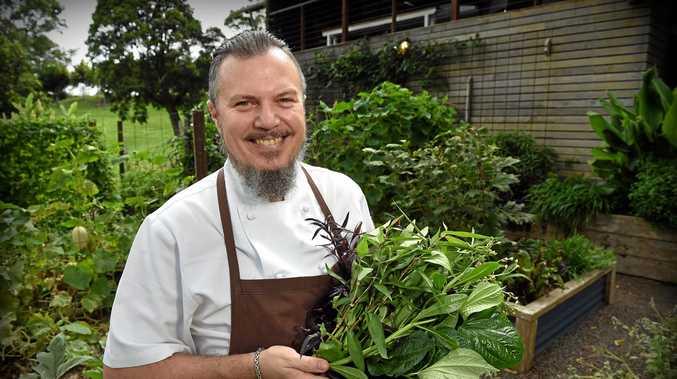 CHARISMATIC: Daniel Jarrett head chef at Tamarind restaurant at Maleny.
