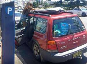 Search for couple regarding stolen car