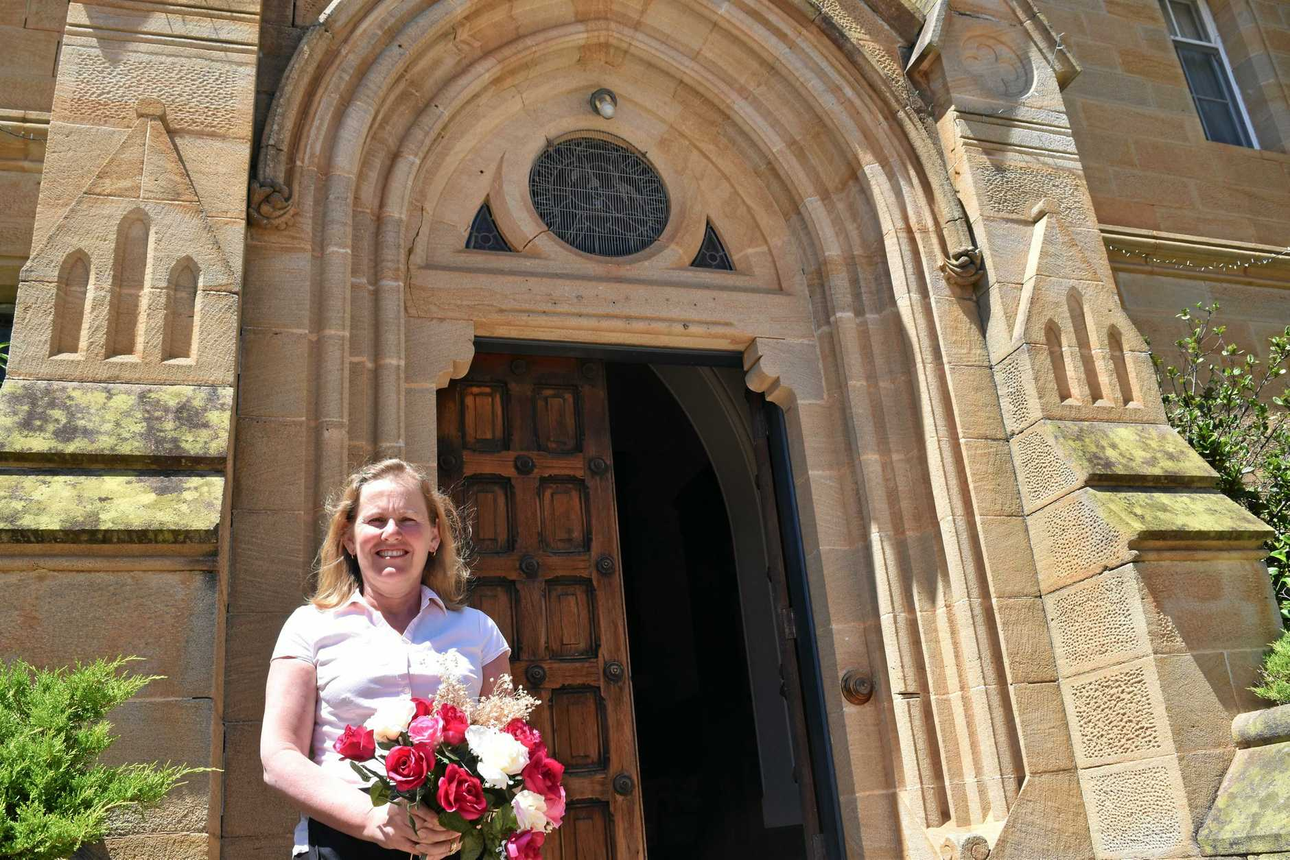 Abbey of the Roses owner Sonia Hunt is delighted to offer a free celebrant for qualifying same-sex marriages.