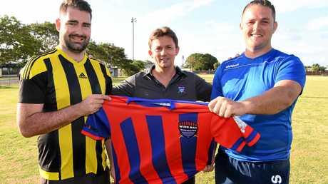 Sam Meyer, Tim Lunnon and Jason McEwan.