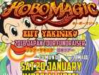 Saturday 20 January sees the Sunny Coast's own psych rock kings HOBO MAGIC play at The Imperial Hotel Eumundi for a night of rock n roll, psychedelic madness!