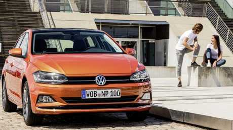 The new Polo feels like a mini-Golf. Pic: Supplied.