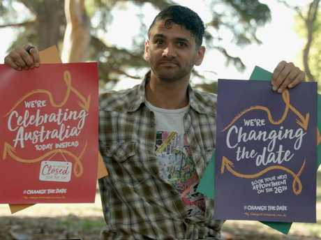Dale de Silva has set up the Change It Ourselves website to support changing Australia Day.