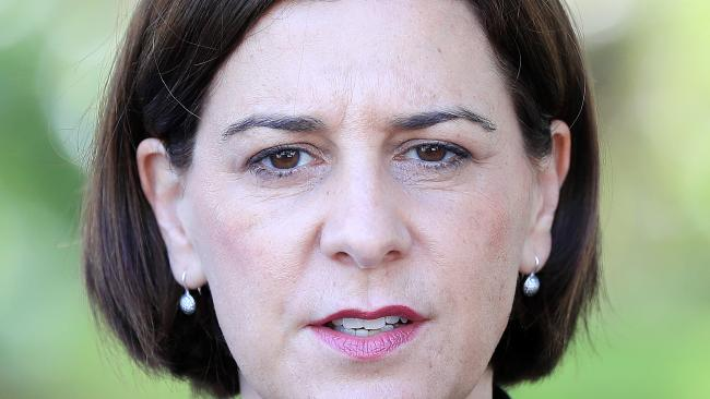 Opposition Leader Deb Frecklington wants the Premier to explain the secret deal between unions and Queensland Rail. Picture: Justin Briety