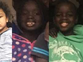 Six children under 13 have been missing for 16 days