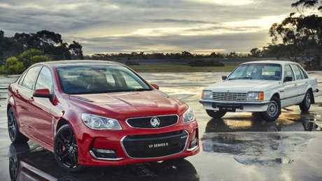 Holden's Commodore ended local production with a bang, recording strong December sales. Picture: Supplied.