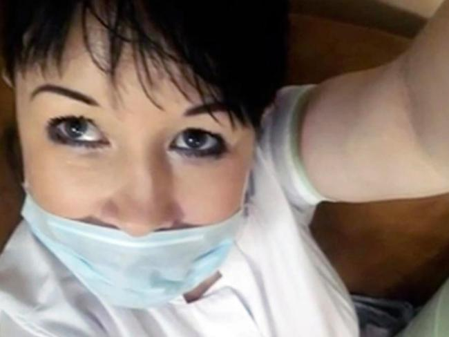 Anna Kim is being investigated but has not been sacked by her hospital in Russia. Picture: East2West News