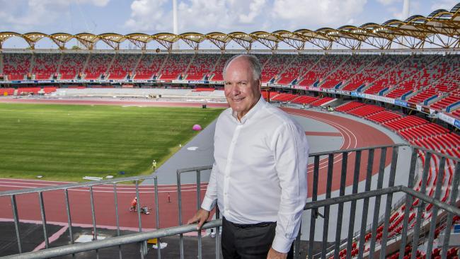Games boss Mark Peters. Photo: Jerad Williams