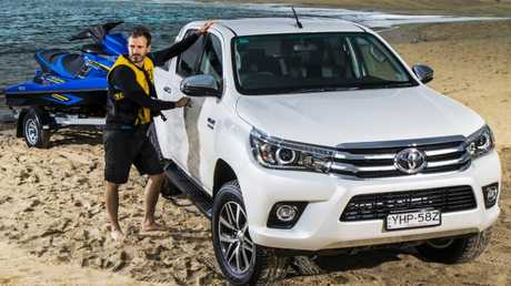 Utes have transformed from work horses to lifestyle vehicles. Pic: Mark Bean.