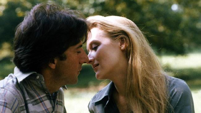 Meryl Streep and Dustin Hoffman in Kramer vs. Kramer