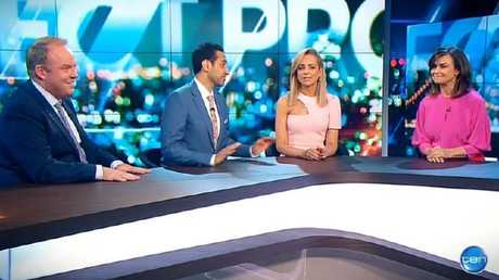 Lisa Wilkinson makes first TV appearance on The Project.