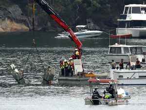 First glimpse of wreckage of doomed seaplane