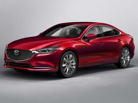 Mazda's up-market design is evident inside and out its new sedan flagship. Picture: Supplied