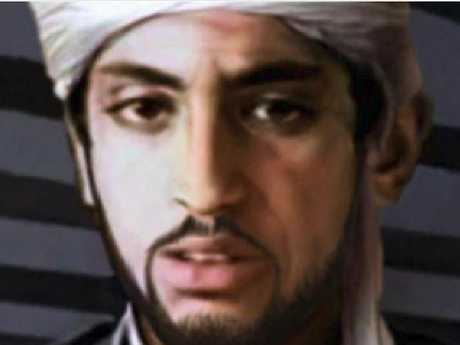 An artist impression of what Hamza bin Laden looks like now using age progression technology. Picture: Supplied