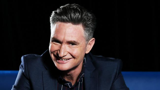 Dave Hughes at the Channel 10 Studios in Pyrmont. Picture: Tim Hunter.