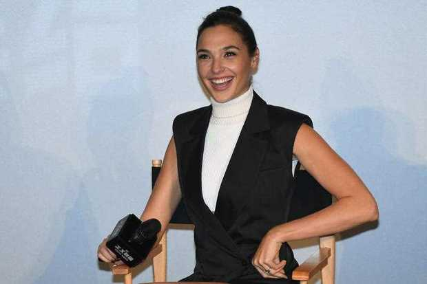 Israeli actress and model Gal Gadot will don black for the Golden Globes.