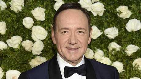 Kevin Spacey arrives at the 71st annual Tony Awards