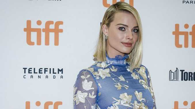 Actor Margot Robbie arrives for the screening of I, Tonya during the Toronto International Film Festival in Toronto on Friday, Sept. 8, 2017.