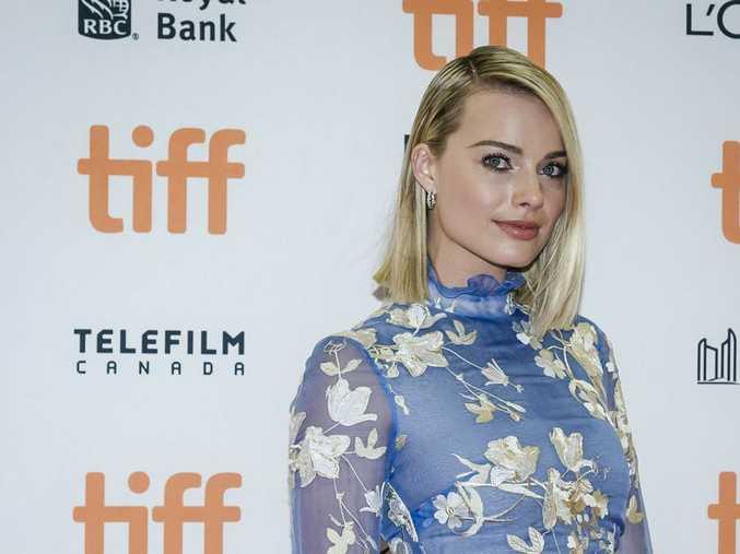 Actor Margot Robbie arrives for the screening of I, Tonya during the Toronto International Film Festival in Toronto on Friday, Sept. 8, 2017.