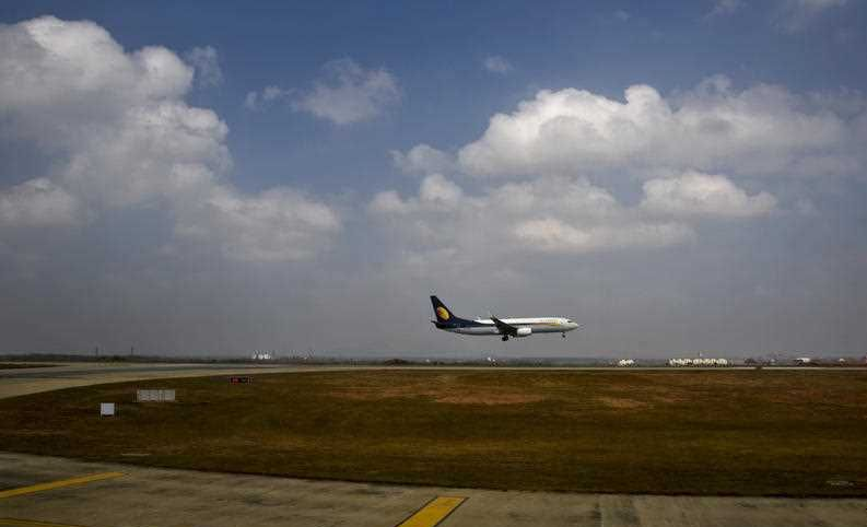India's Jet Airways says it has ordered an investigation into reports that a senior pilot slapped a female co-pilot in the cockpit during a London to Mumbai flight this week.