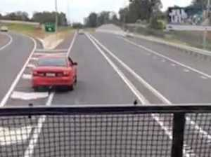 Outcry shocks truck driver