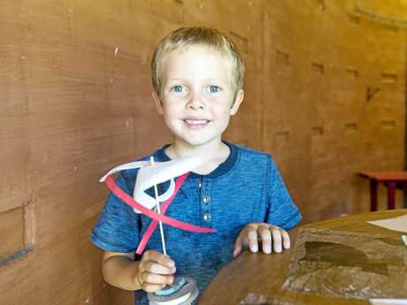 Head along to Cobb and Co Museum for the fun Da Vinci Machines school holiday activities.