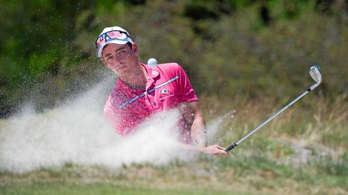 AIMING HIGH: Charlie Dann will tee off in his first event of the year next week at the Royal Melbourne Golf Club for the Australian Master of the Amateurs.