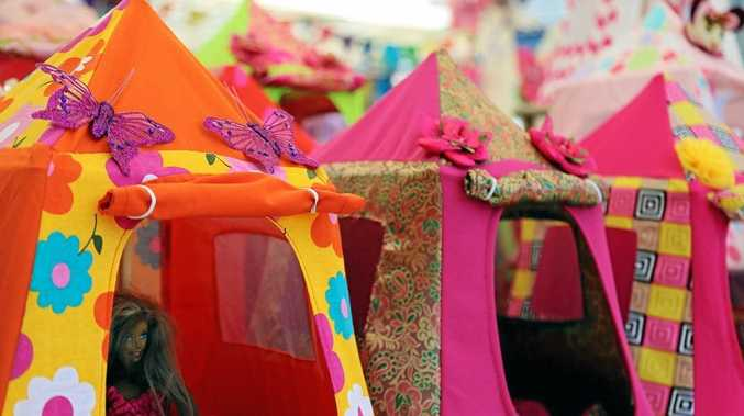 A love of beautiful fabric and craft led to Gerry Roberts developing her line of Pumpkin Jetty Tiny Tents.