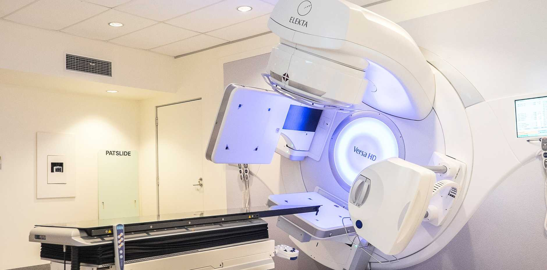 NEW TECHNOLOGY: A linear accelerator, which will deliver radiation therapy at the new treatment centre at the Mater Hospital Bundaberg.
