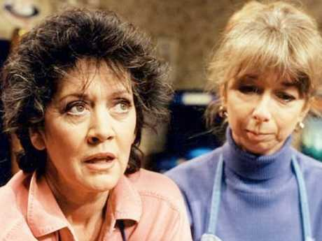 Amanda Barrie played Alma Sedgewick for 20 years on the beloved UK soap, Coronation Street. Picture: Supplied