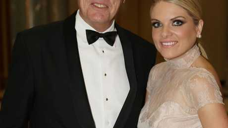 Mr Molan with his daughter Erin at the Mid Winter Ball. Pic by Gary Ramage