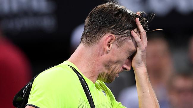 John Millman was devastated after the loss.