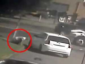 WATCH: Wiped-out man's bizarre move