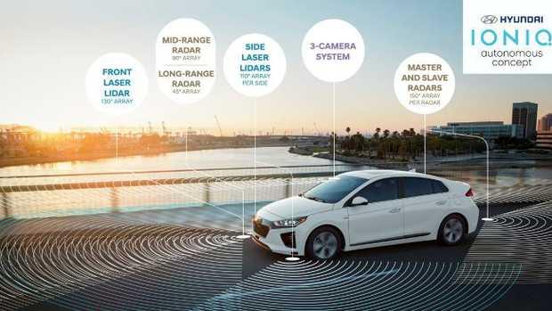 The new Hyundai Ioniq will arrive mid-year in Australia.