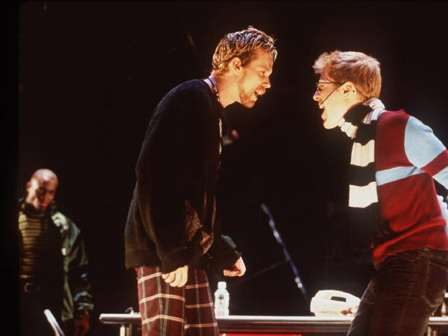 Adam Pascal and Anthony Rapp, in Broadway musical Rent. Picture:  Supplied