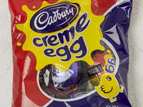 One shopper claims his pack of five eggs had been tampered with. Picture: News Corp Australia