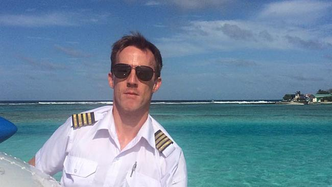THE family of the pilot who perished in the New Year's Eve seaplane crash have touched down in Sydney today.