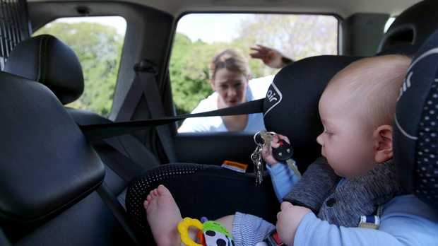 locked car. A Warning Has Been Issued To Parents About Being Careful With Their Car Keys, Locked