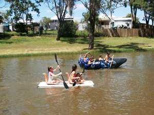 Raft race planned for contaminated Oakey waterway