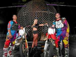 Extreme circus show takes to Jack Evans