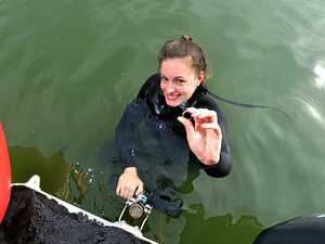 'Needle in haystack': Scuba divers find tourist's lost ring